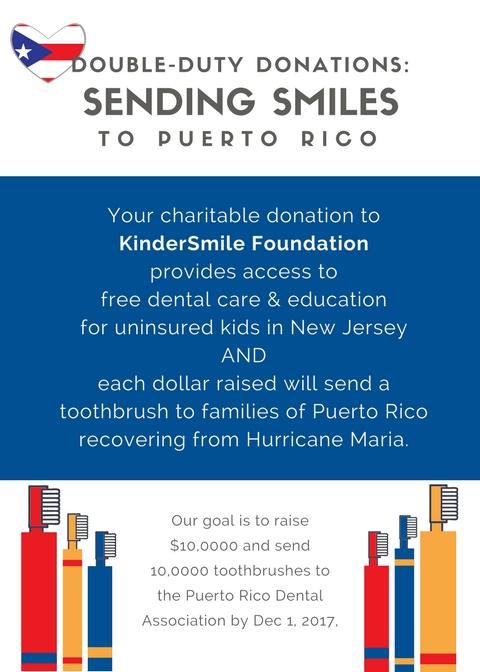 Double-Duty Donations: Sending Smiles